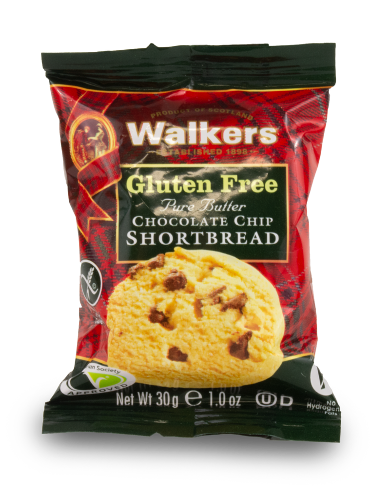 Walkers Walkers Gluten Free Chocolate Shortbread 2 Pack 30g