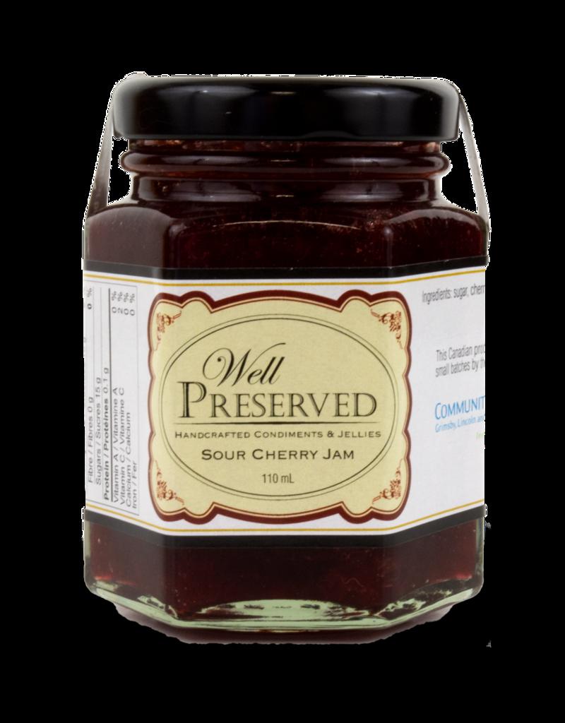 Community Living Well Preserved Jam - Sour Cherry 110ml