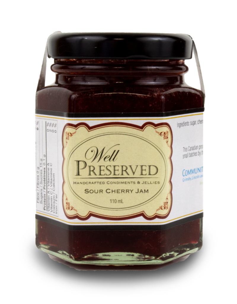 Well Preserved Well Preserved Jam - Sour Cherry 110ml