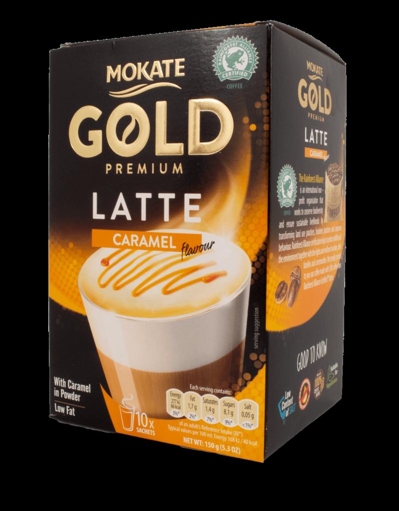 Mokate Mokate Instant Latte - Caramel 150g