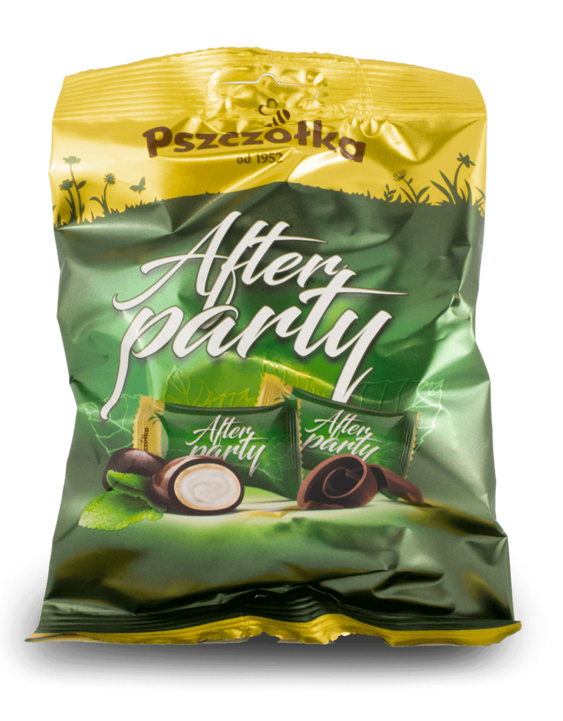 "Pszczolka Pszczolka ""After Party"" Chocolate Mints 100g"