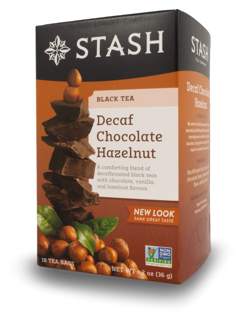 Stash Stash Chocolate Hazelnut Decaf Tea