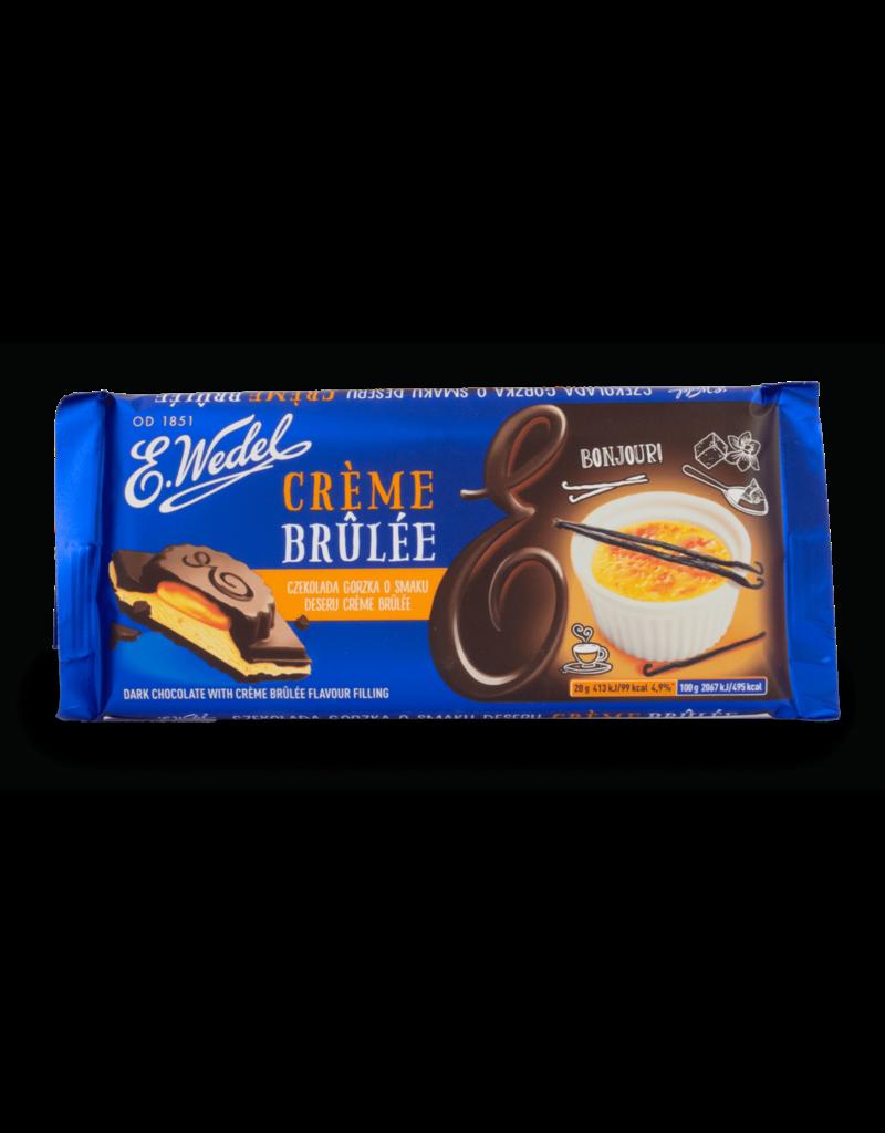 Wedel Wedel Chocolate - Dark with Creme Brulee 100g