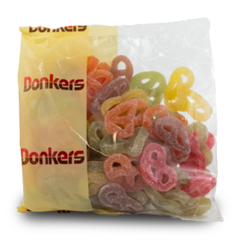 Donkers Fruit Pretzel Gummies 1kg