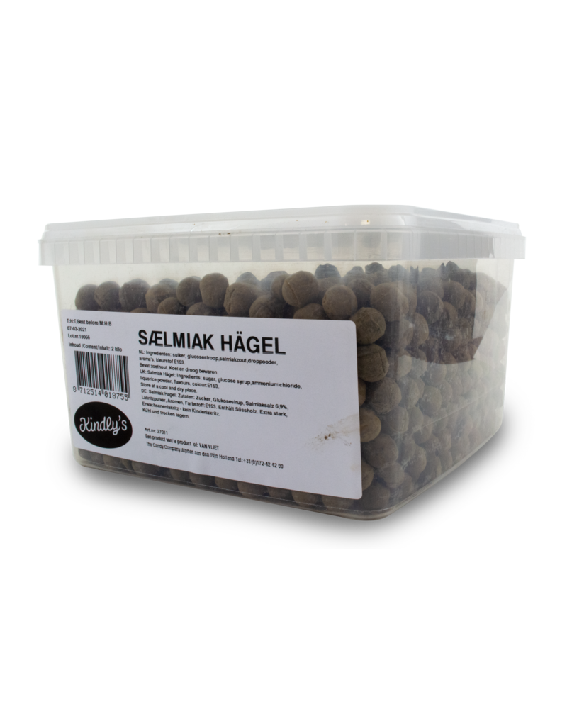 Kindley's Kindley's Salmiak Hagel 2kg