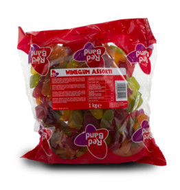 Red Band Wine Gums Assorted 1kg