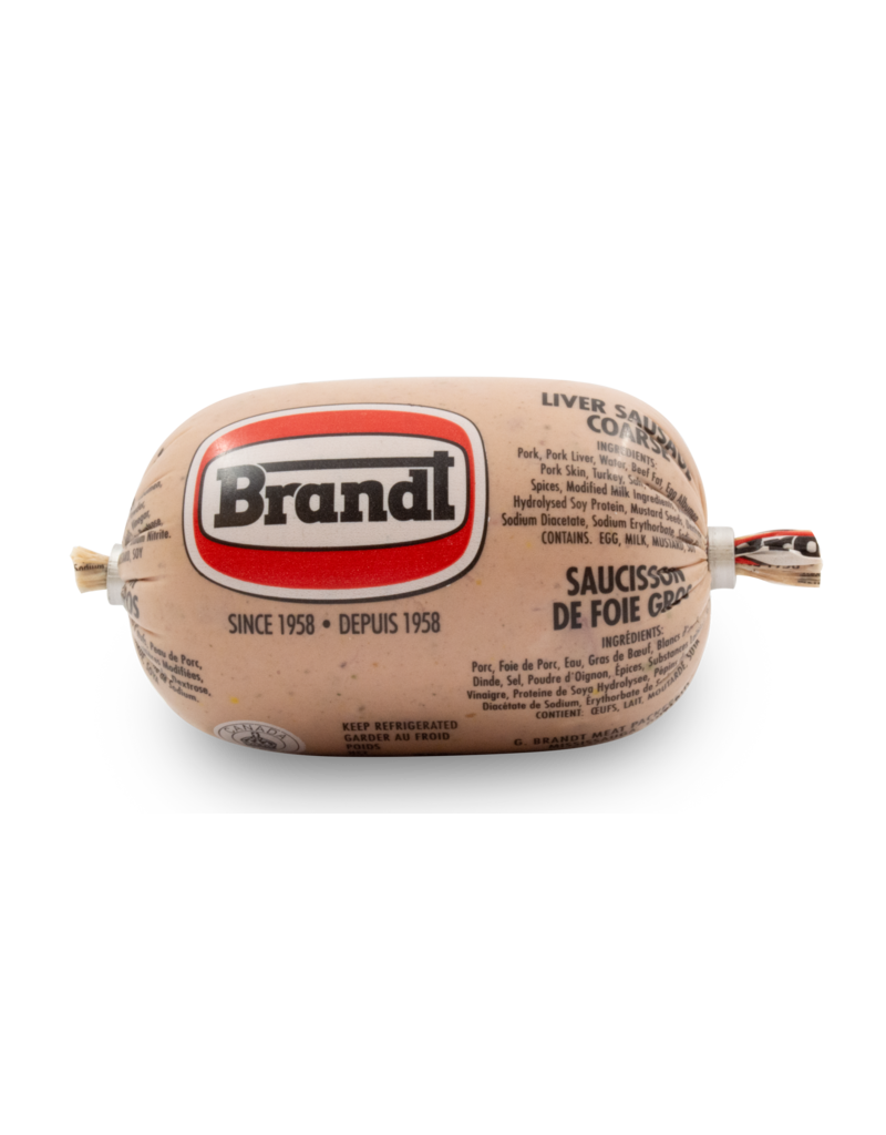 Brandt Liver Coarse Sausage Chub