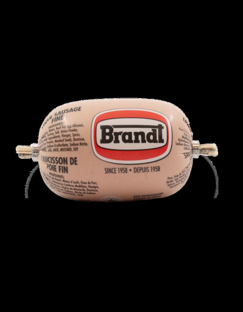 Brandt Fine Liver Sausage Chub