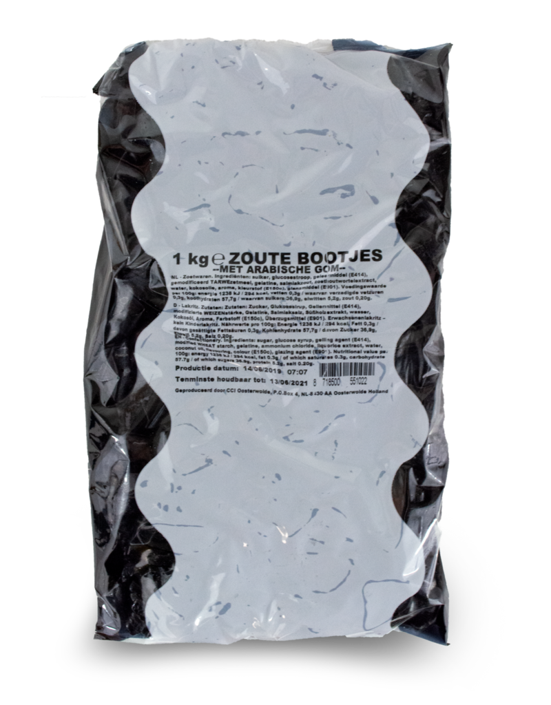 CCI CCI Zoute Boontjes (Salty Boats) 1kg