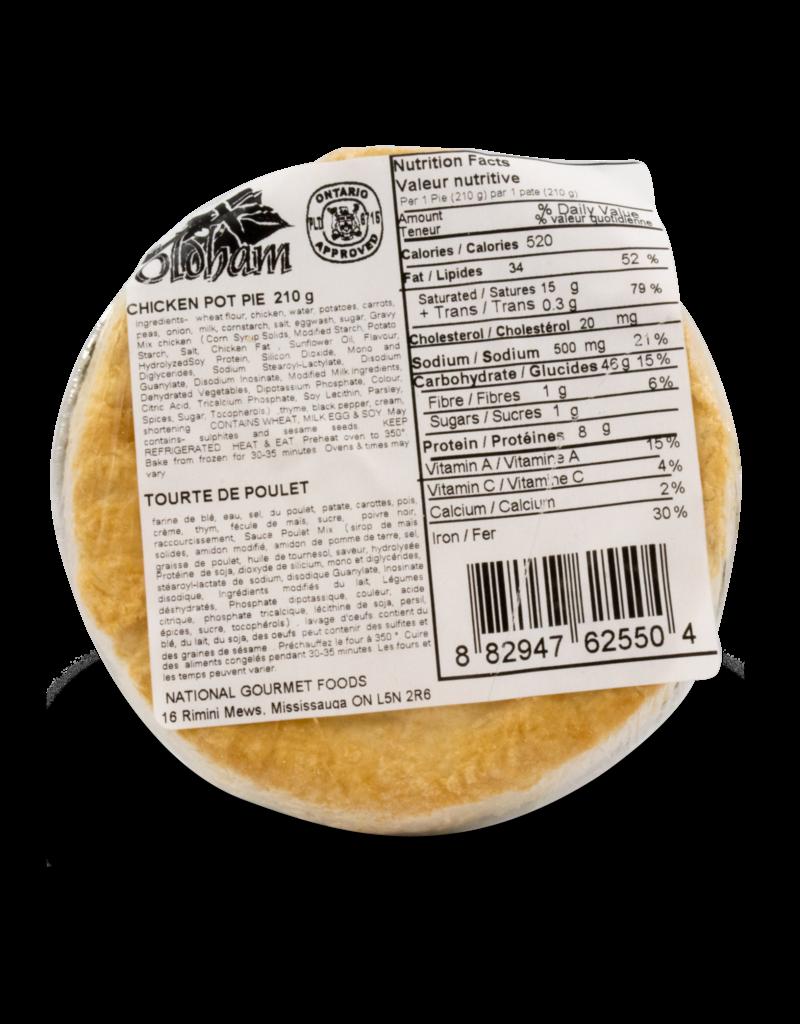 Oldham Chicken Pot Pie 210g