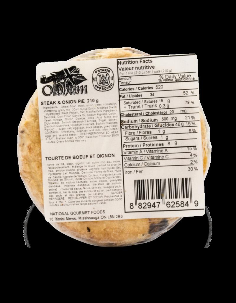 Oldham Oldham Steak and Onion Pie 210g