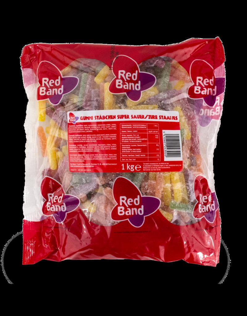 Venco Red Band Sour Sticks 1kg