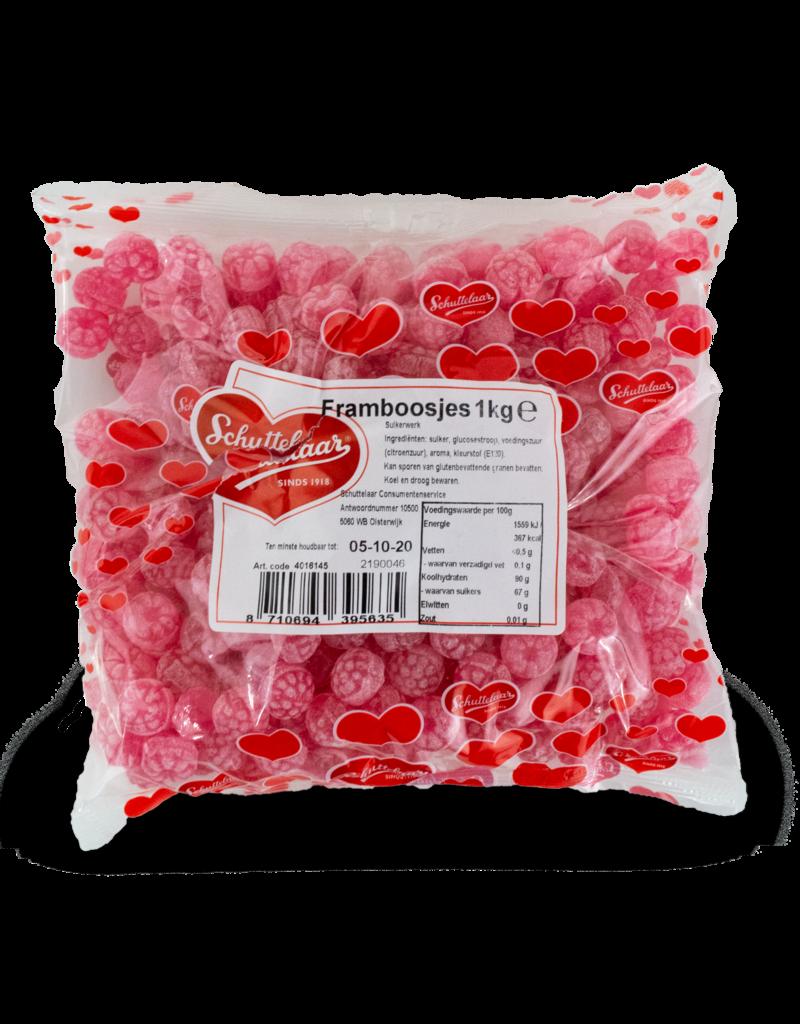 Schuttelaar Schuttelaar Raspberries 1kg