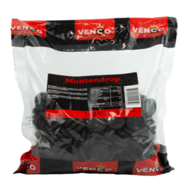 Venco Muntdrop Coin Licorice 1kg