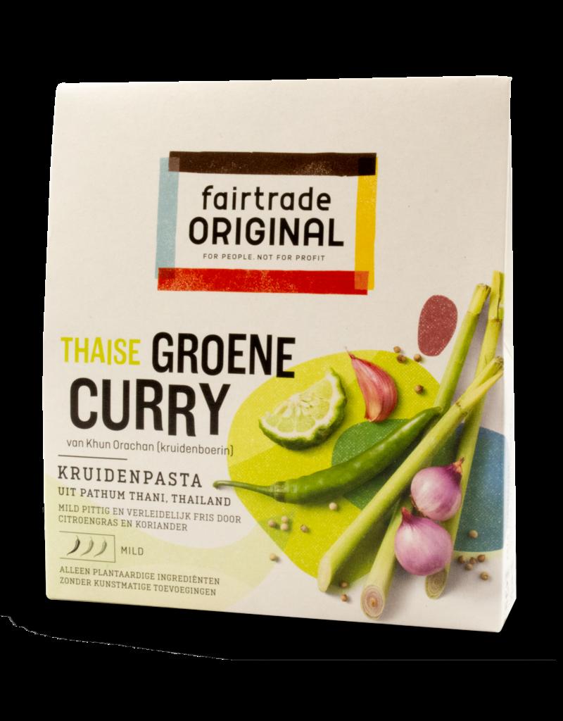 FairTrade FairTrade Green Curry Paste 70g