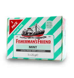 Fisherman's Friend Mint 3 Pack 3X25g