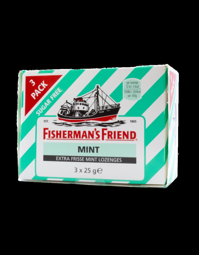 Fisherman's Friend Fisherman's Friend Mint Sugar Free 3 Pack 3X25g