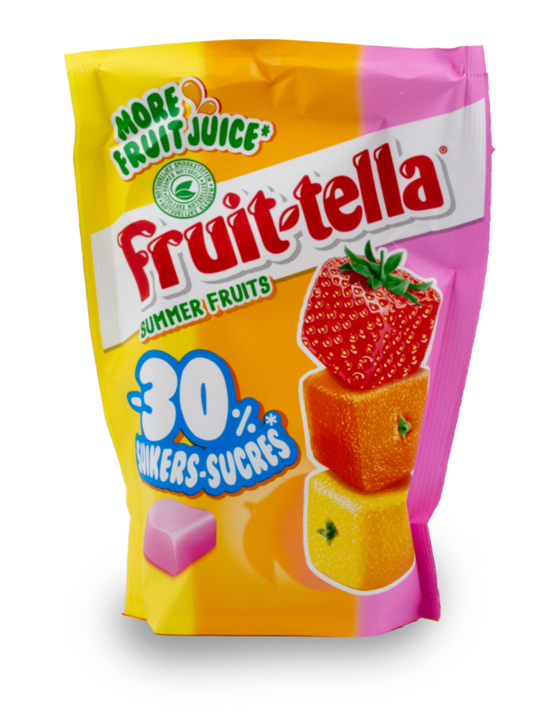Fruittella Fruittella Summer Fruit 30% Less Sugar 120g