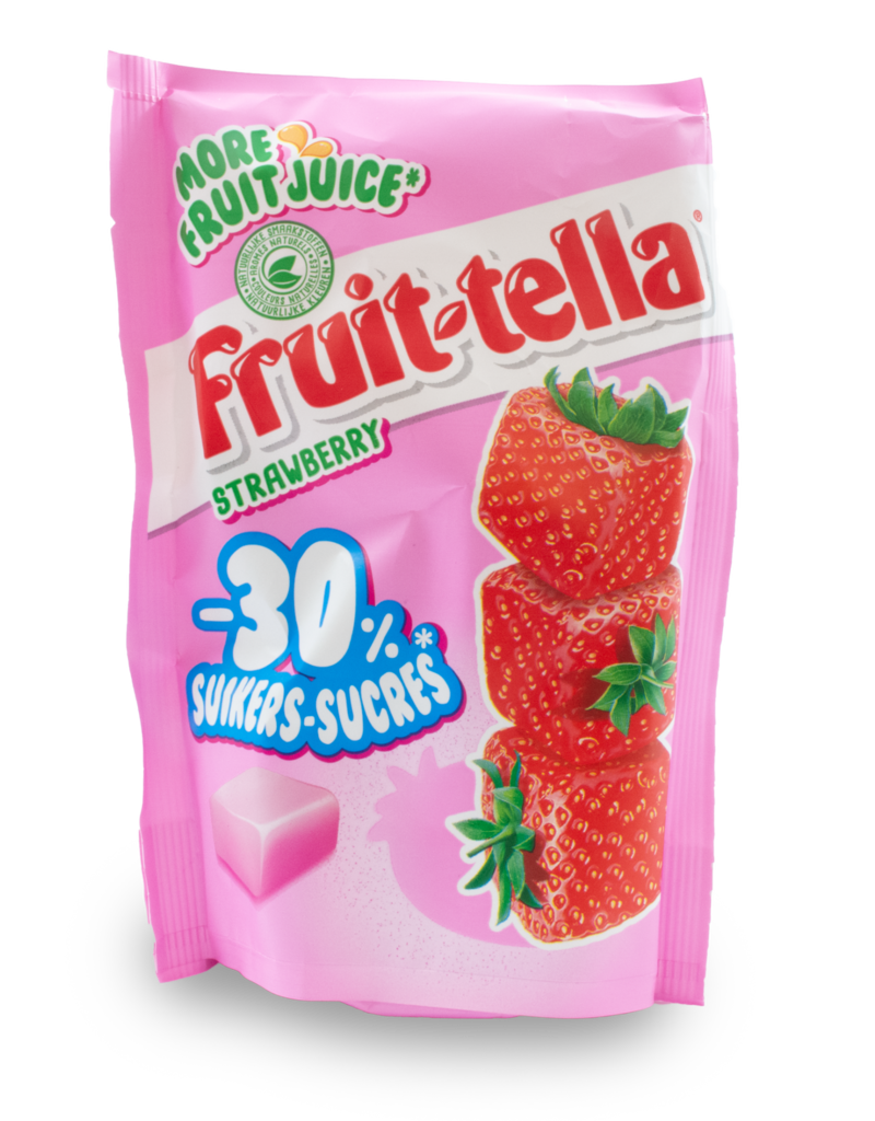 Fruittella Fruittella Strawberry 30% Less Sugar 120g