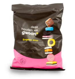 Gwoon English Liquorice 400g