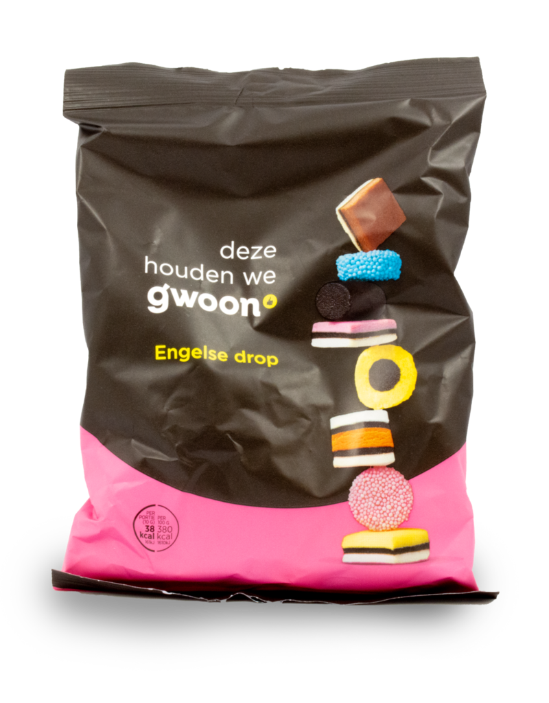 Gwoon Gwoon English Liquorice 400g