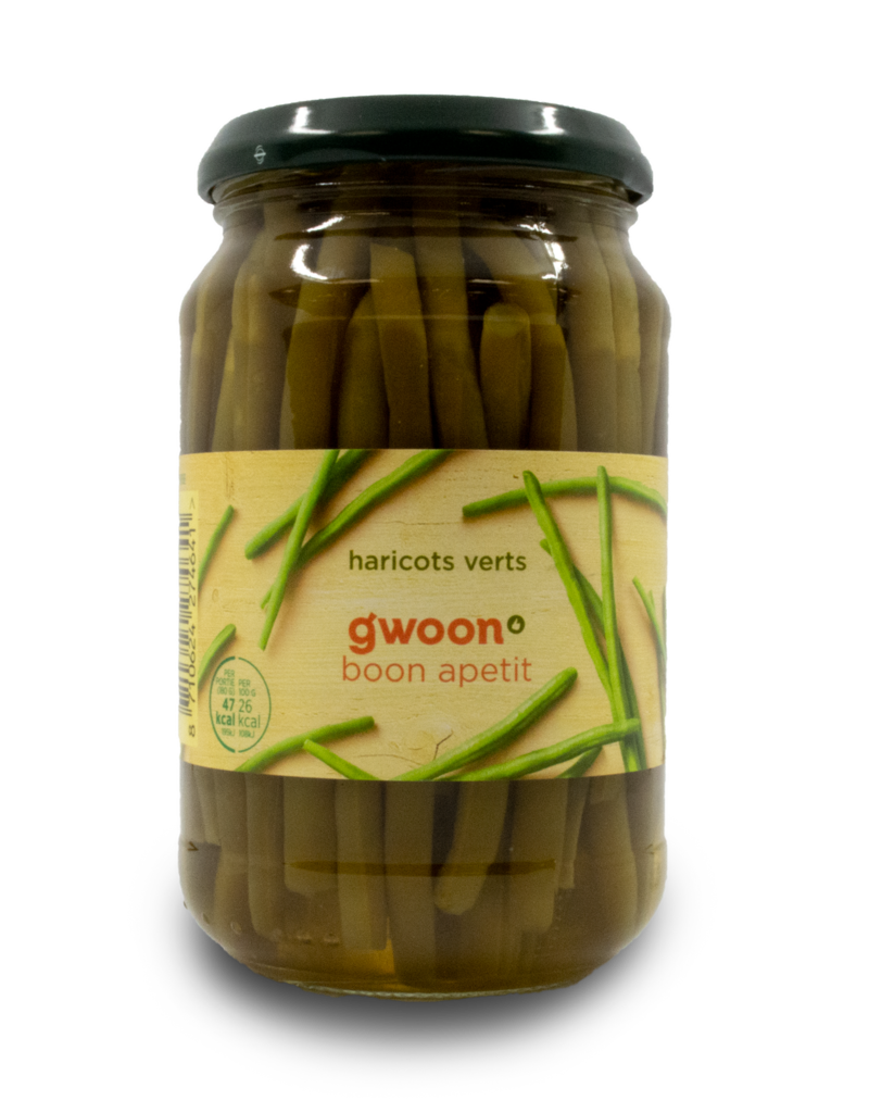 Gwoon Gwoon Extra Fine Green Beans 370ml