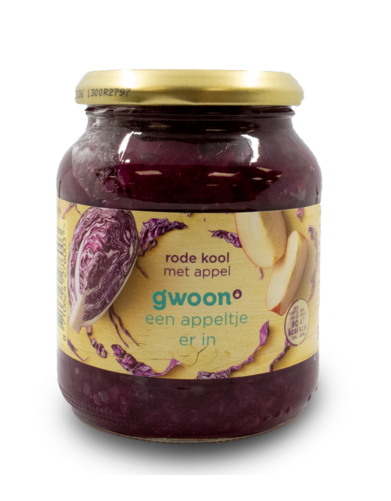 Gwoon Gwoon Red Cabbage with Apple 370ml