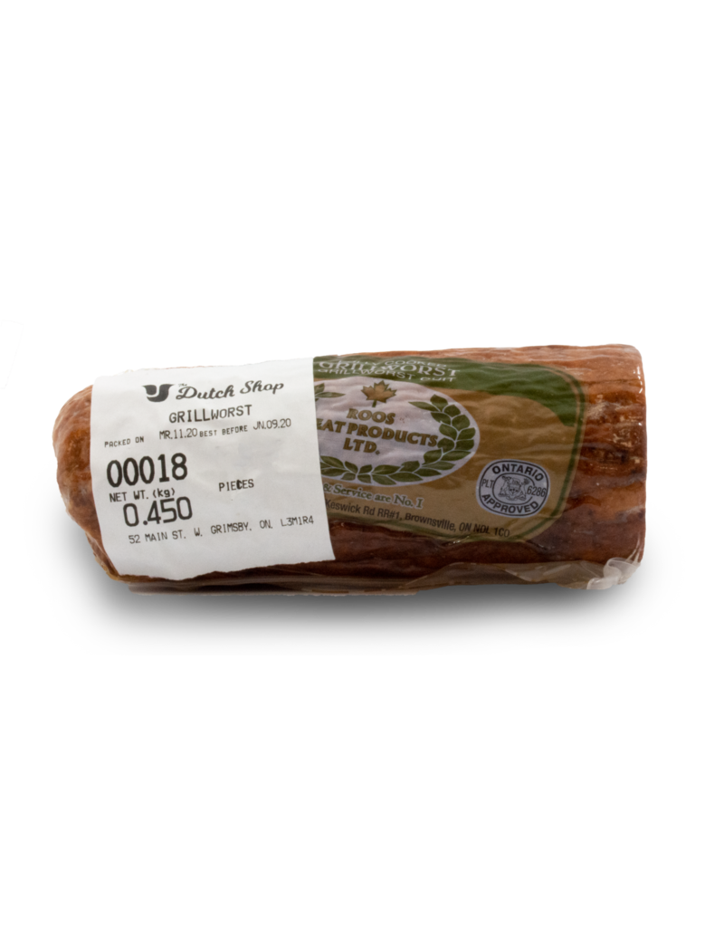 Roos Roos Grillworst Sausage 450g
