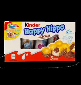 Ferrero Kinder Happy Hippo Cocoa 5pk