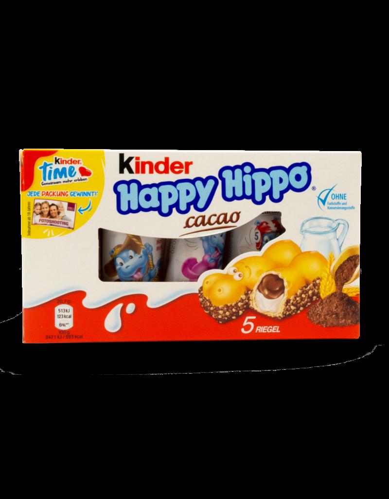 Ferrero Ferrero Kinder Happy Hippo Cocoa 5pk