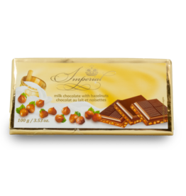 Imperial Hazelnut Chocolate Bar 100g