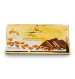 Imperial Almond Chocolate Bar 100g