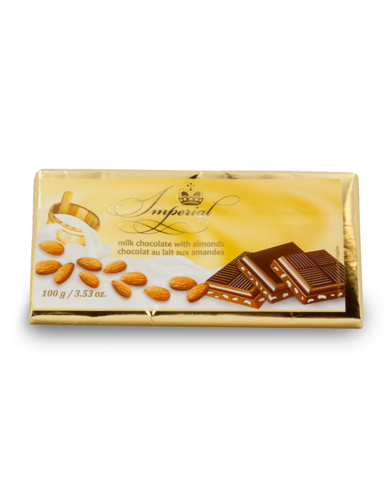 Imperial Imperial Almond Chocolate Bar 100g