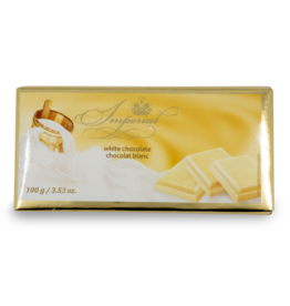 Imperial White Chocolate Bar 100g