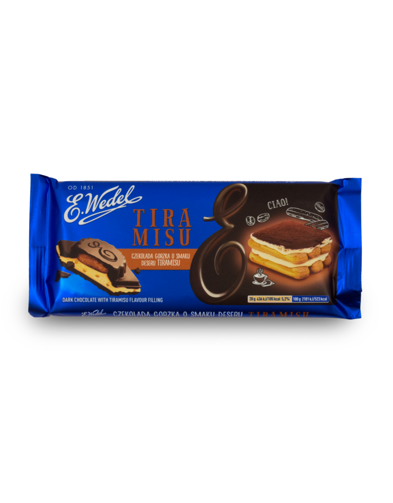 Wedel Wedel Chocolate - Dark with Tiramisu 100g