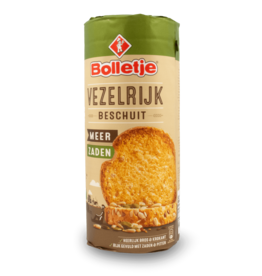 Bolletje High Fibre Wholewheat Rusk 13pcs