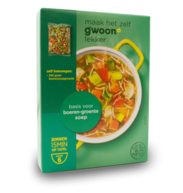 Gwoon Soup Mix - Farmer's Vegetable