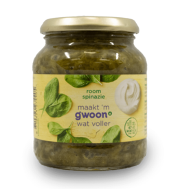 Gwoon Cream Spinach (Roomspinazie) 330g
