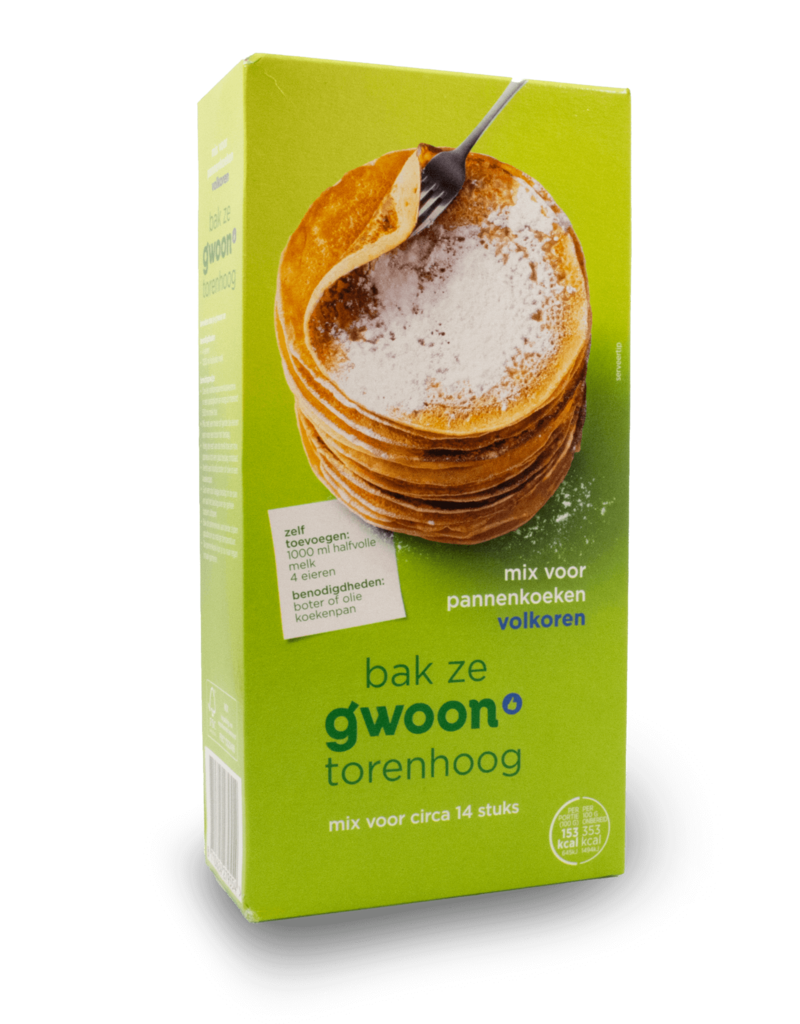 Gwoon Gwoon Pancake Mix Wholewheat 400g