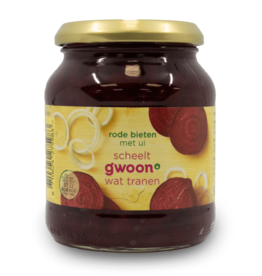 Gwoon Red Beets with Onions 340g