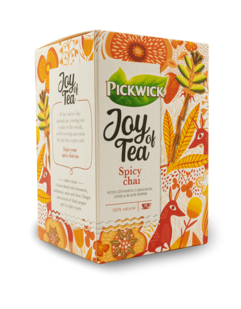 "Pickwick Pickwick ""Joy of Tea"" Spicy Chai 15pk"