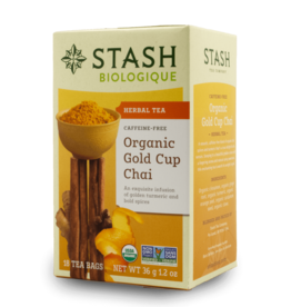 Stash Organic Gold Cup Chai Tea 33g