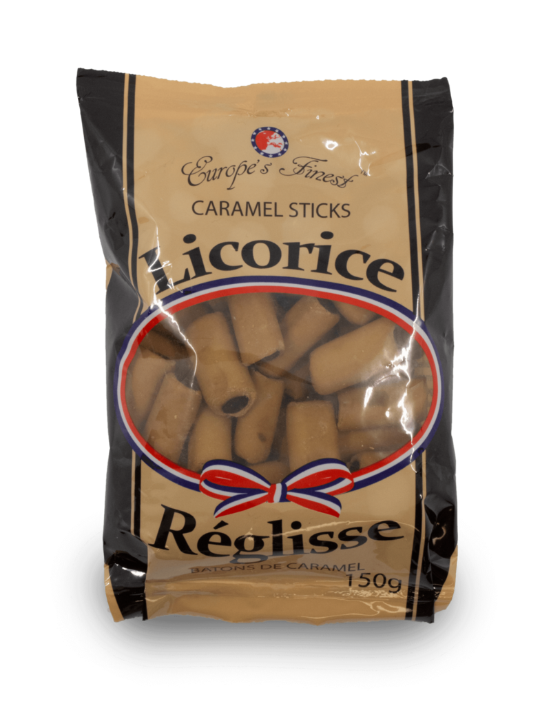Europe's Finest Europe's Finest Caramel Stick Liquorice 100g