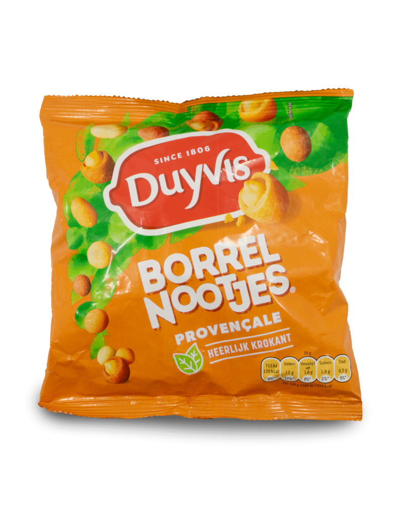 Duyvis Duyvis Borrelnootjes Provencale Cocktail Nuts 300g
