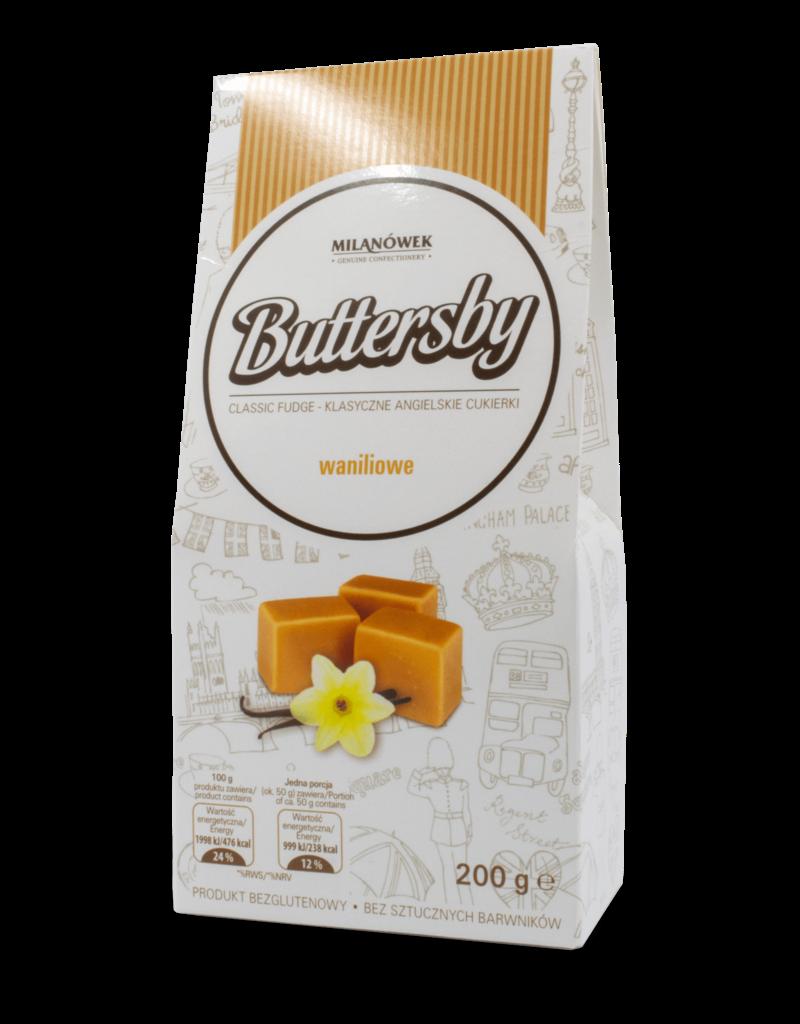 Milanowek Buttersby Vanilla Fudge 200g