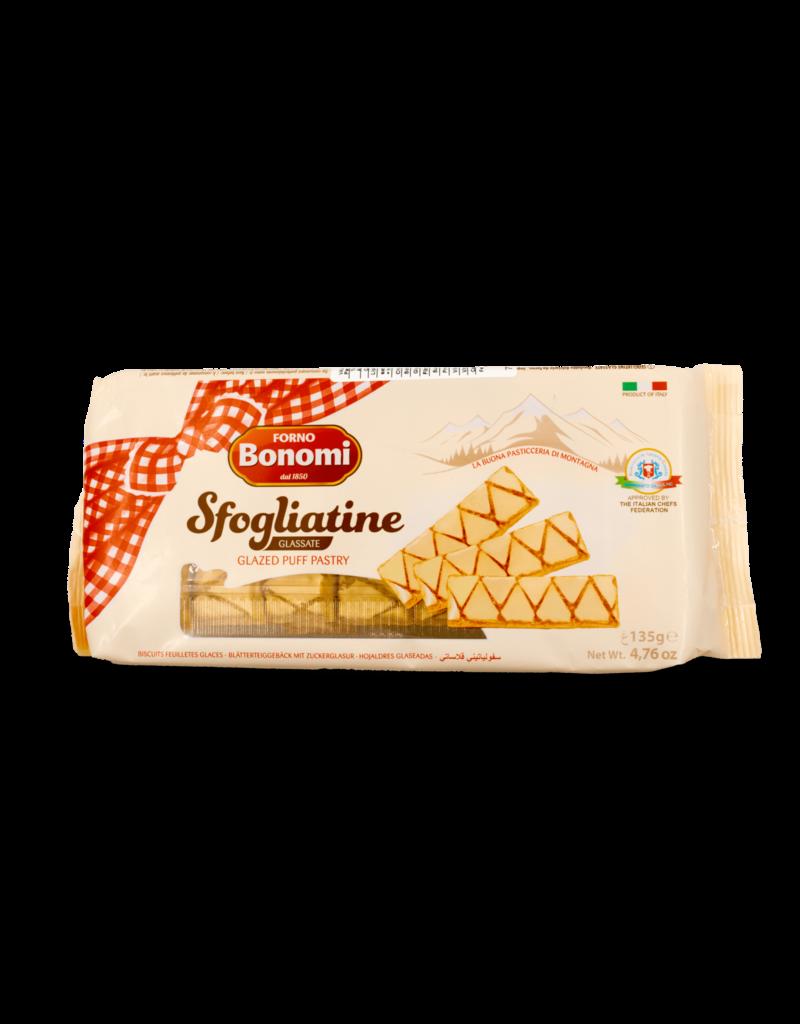 Forno Bonomi Forno Bonomi Sfogliantine Glazed Puff Pastry 135g