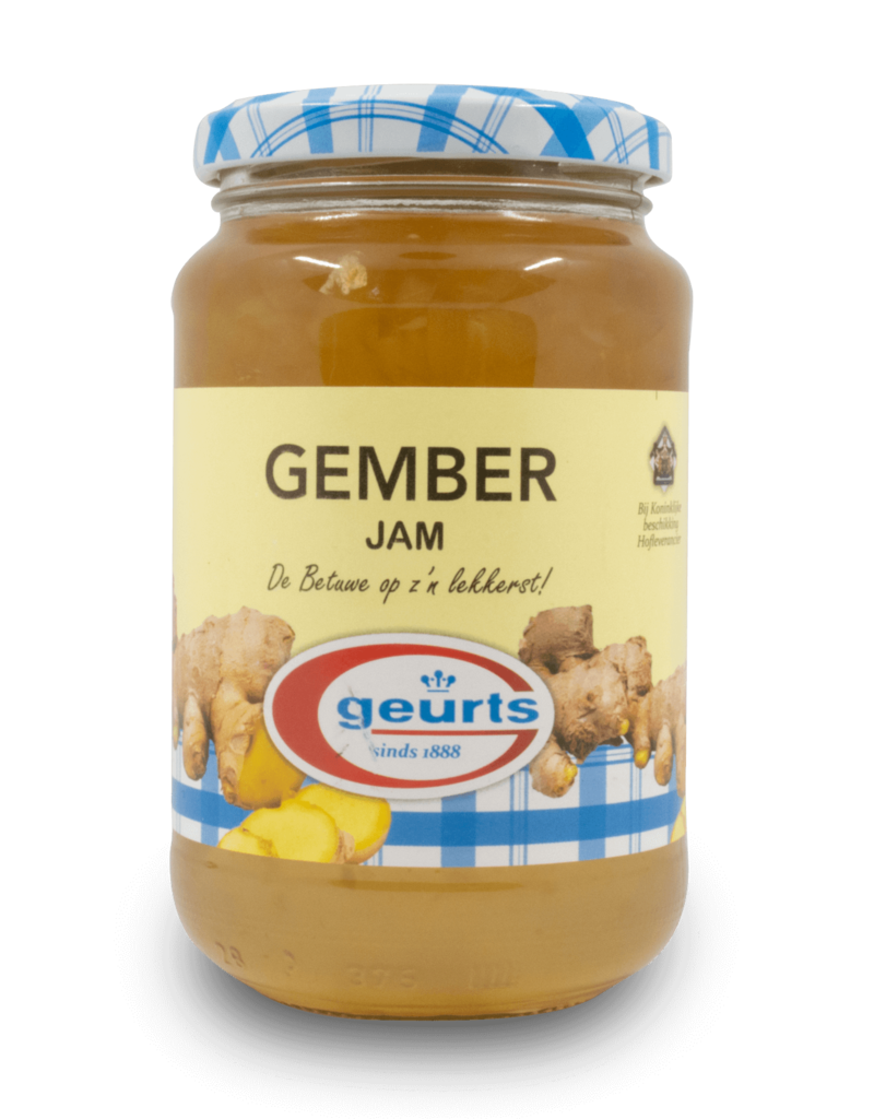 Geurts Geurts Jam - Ginger 450g