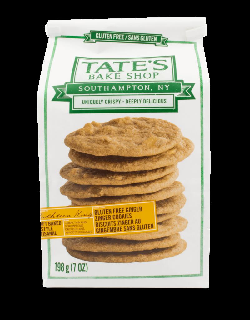Tate's Tate's Gluten Free Ginger Zinger  Cookies 198g