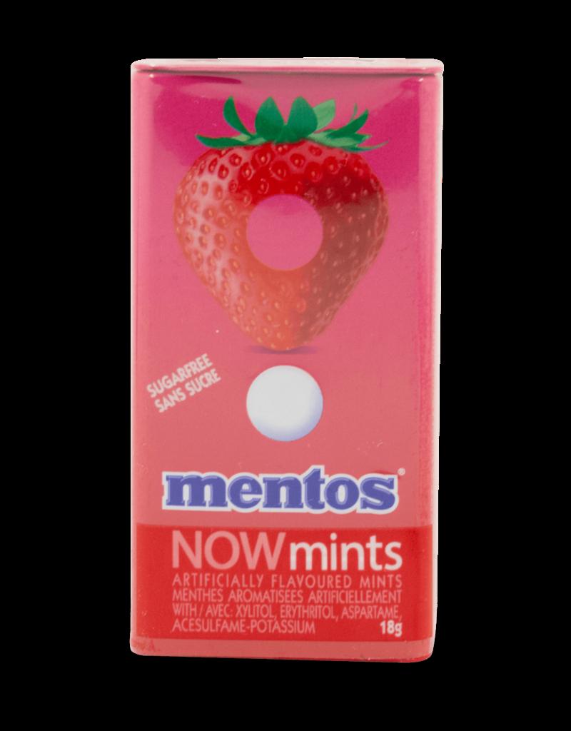 Mentos Mentos Now Mints (Sugar Free) - Strawberry 18g