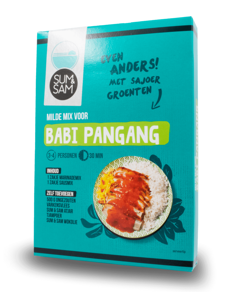 Sum & Sam Sum & Sam Babi Pangang Mix 90g